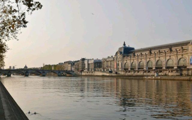 Course solidaire : balade le long des quais de Seine